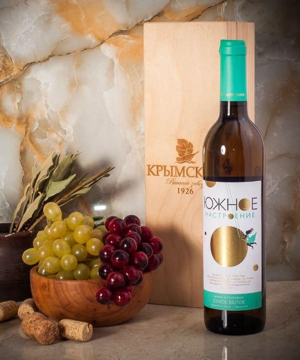 Белое сухое вино из серии «Южное Настроение»