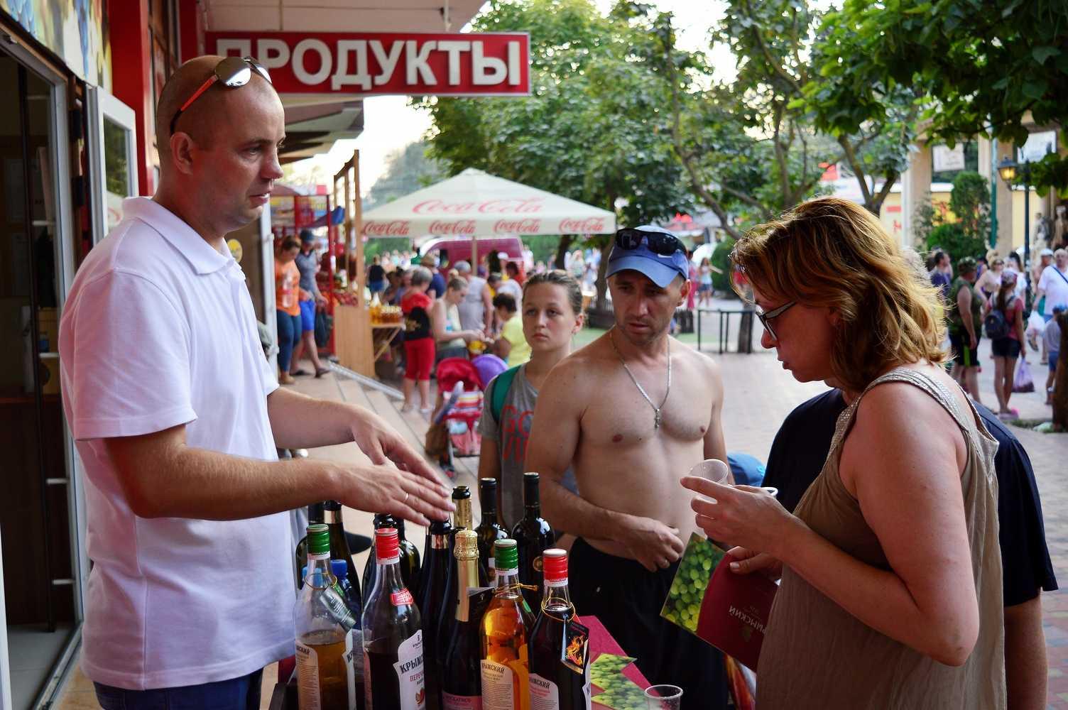 2017 дегустация вин Крымского винного завода Кабардинка