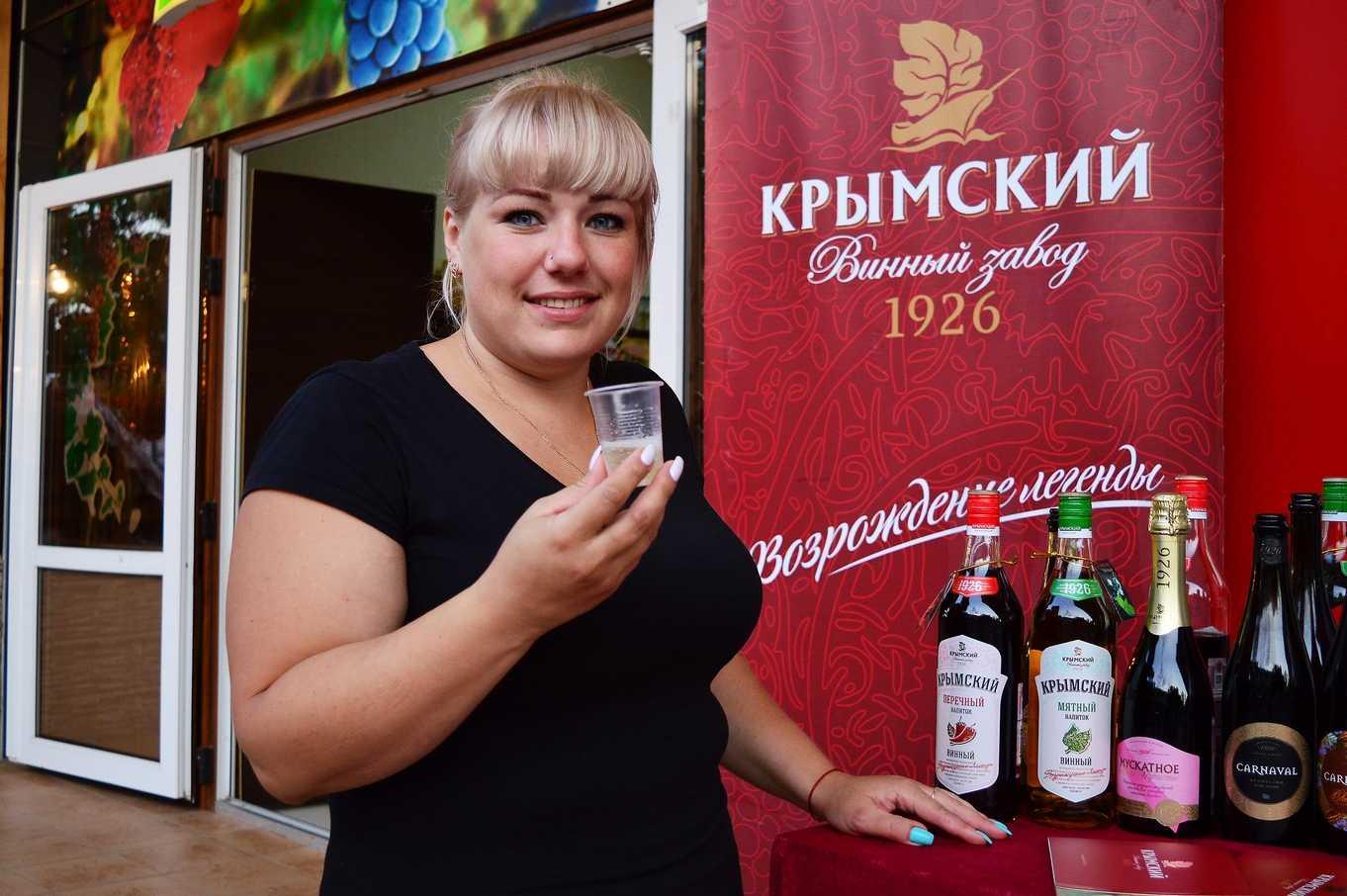 Сезон 2017 дегустация вин Крымского винного завода с.Дивноморское