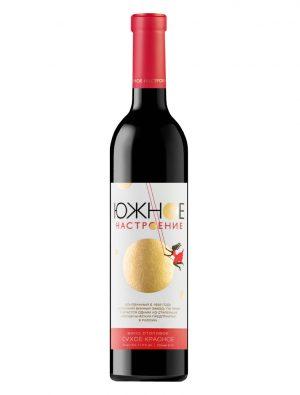 Вино Сухое Красное «Южное Настроение»