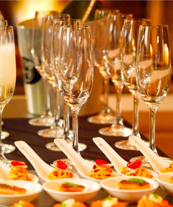 Шампанское для классических перекусов