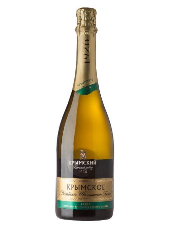 Вино Российское шампанское Брют