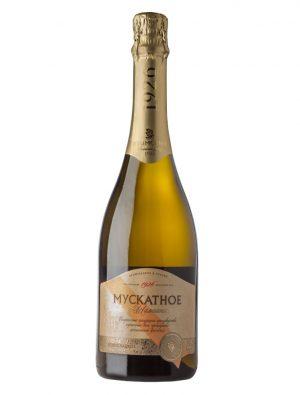 Крымское мускатное шампанское