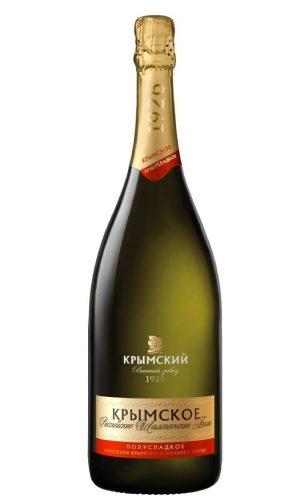 Крымское Шампанское Полусладкое 1,5 л