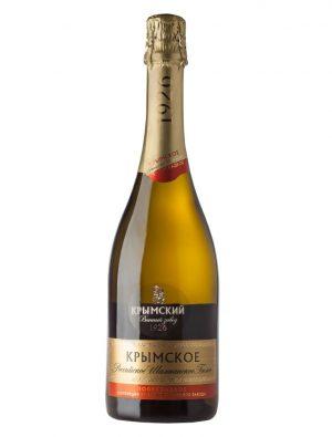 Российское Шампанское Крымское Полусладкое