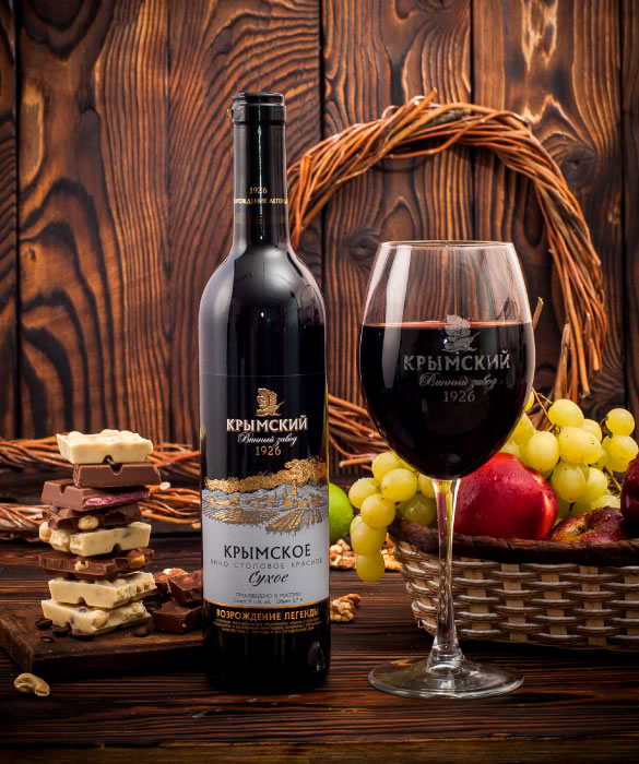 Крымское Красное вино, Сухое
