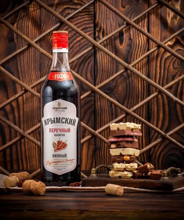 Крымский Перечный Напиток Полусладкий