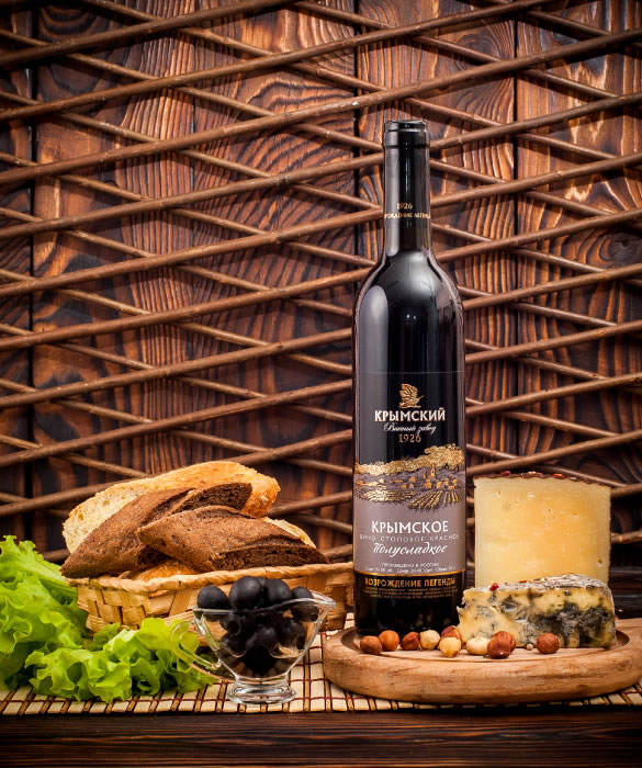 Вино - Изабелла Красное Полусладкое