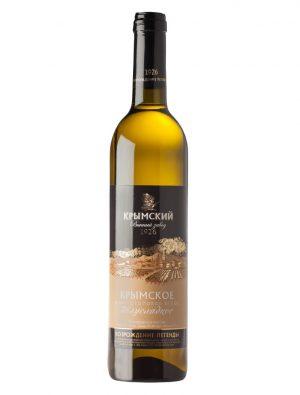 Вино Крымское Белое Полусладкое