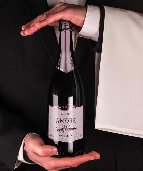 Винный газированный напиток «Аморе Аппассионато» с классическим вкусом