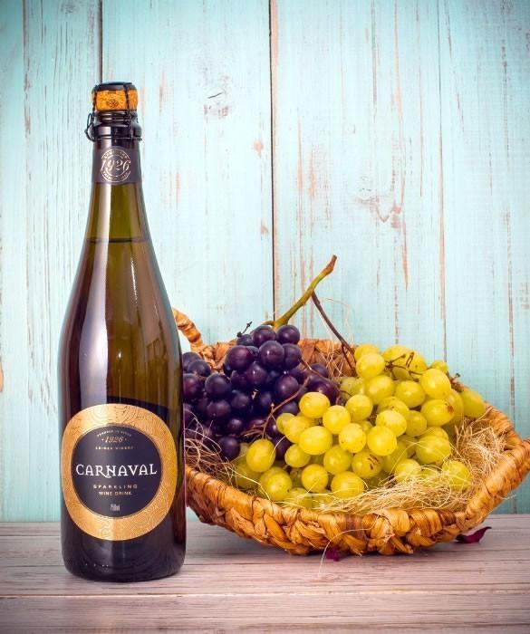 «Карнавал» классический винный газированный напиток