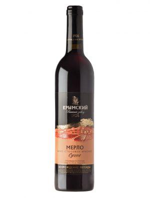 Красное вино - Мерло, Сухое