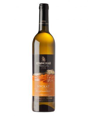 Вино Мускат Белое Полусладкое