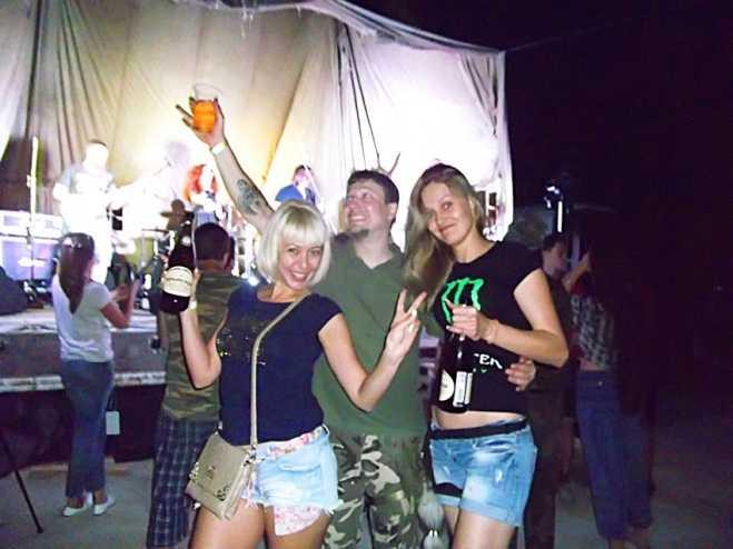 Байк-фестиваль 2015 Абрау Дюрсо -спонсор Крымский винный завод