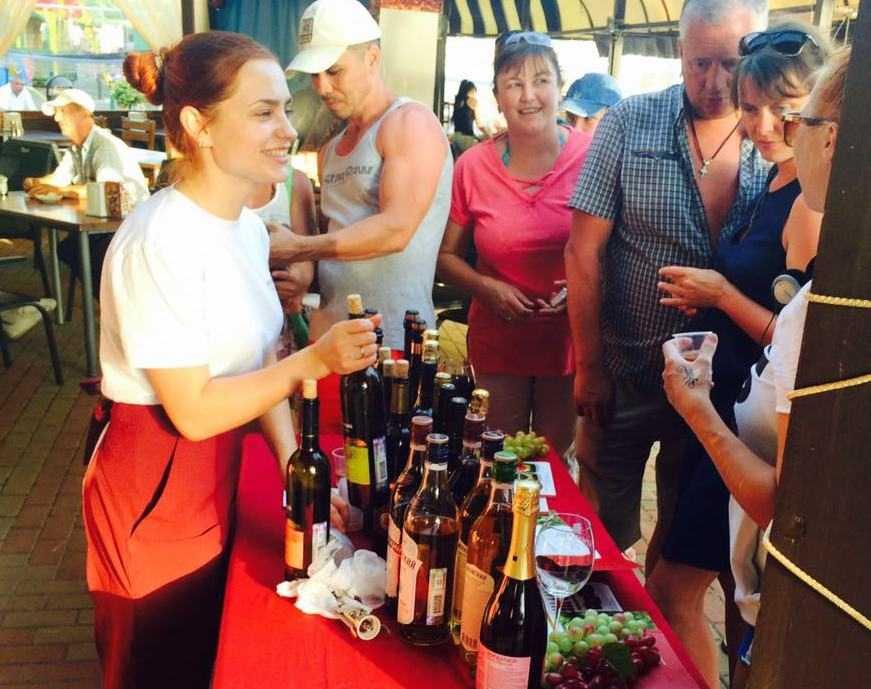 Дегустация 2016 Крымский винный завод
