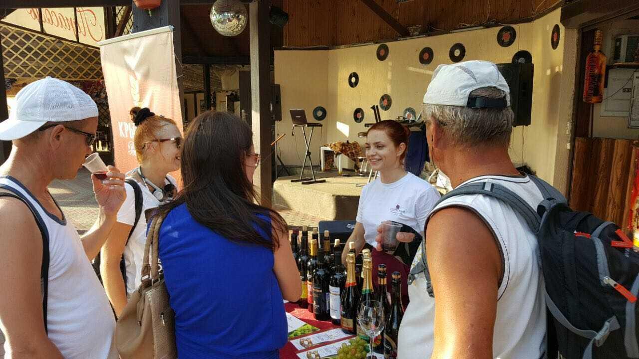 Дегустация 2016 вина Крымский винный завод