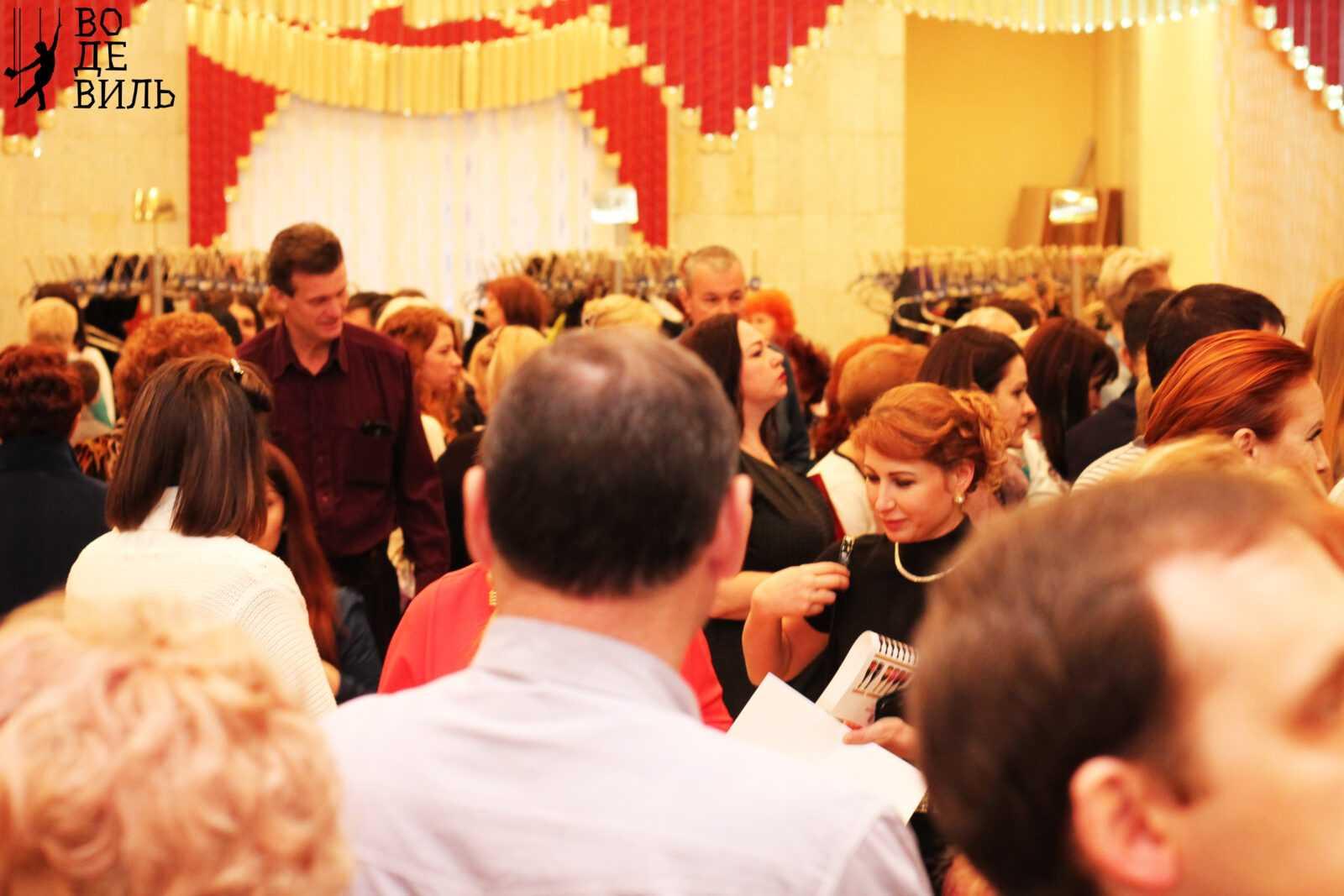 Дегустация Крымского вина на День Тетра 2017г, Краснодар
