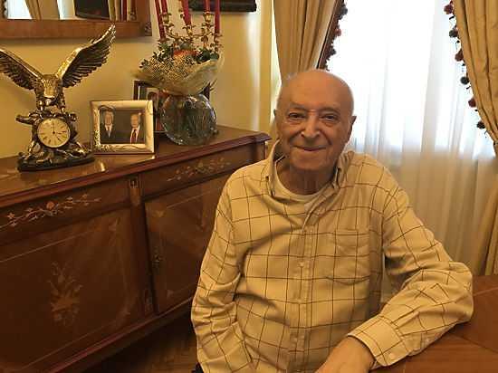 Интервью с В.Этуш у него дома