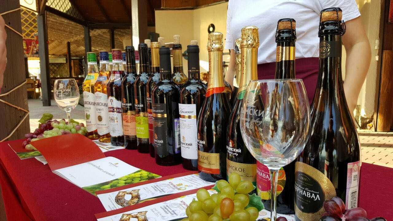 Дегустация 2016 Геленджик вина