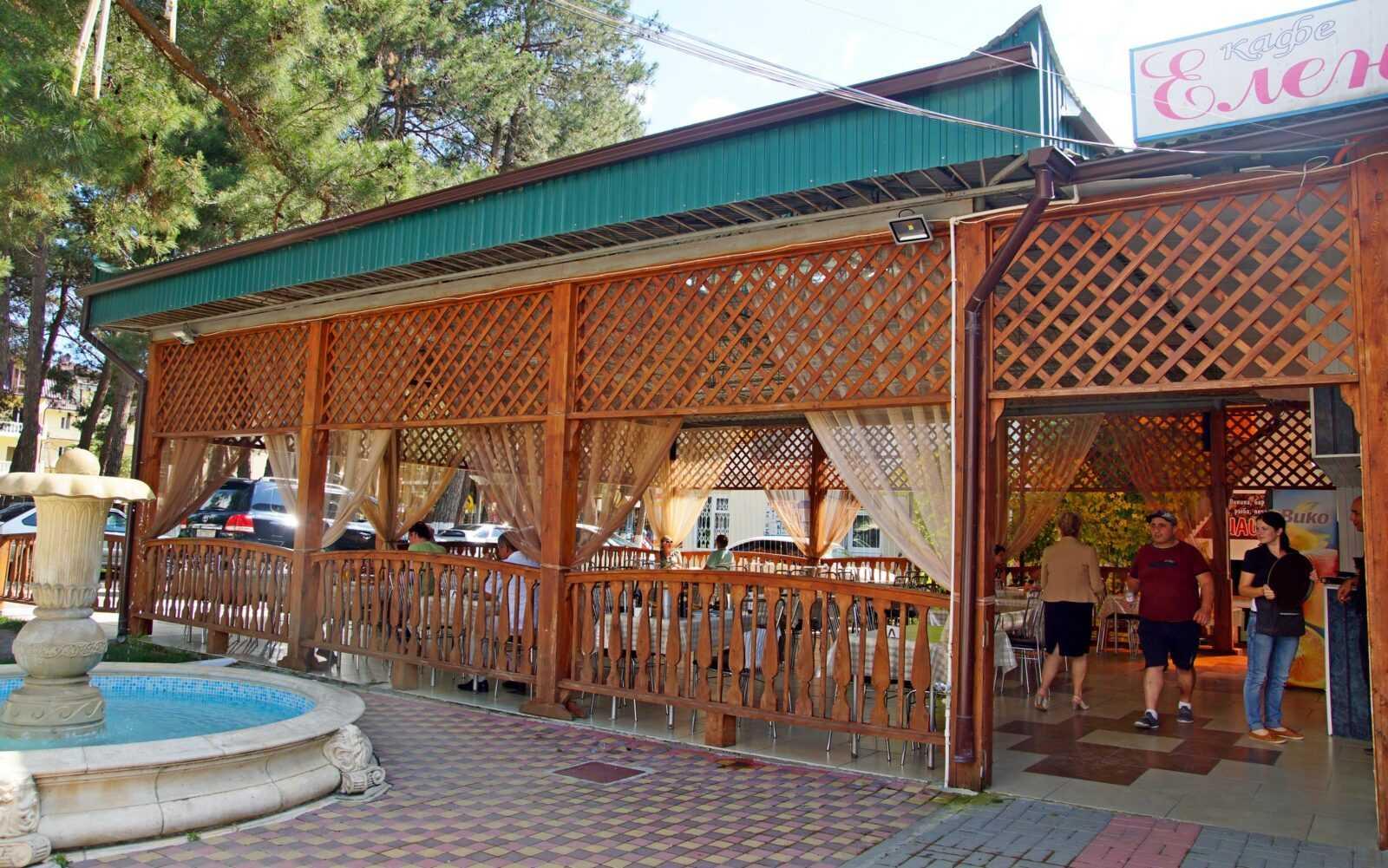Дивноморск кафе Елена дегустации 2016
